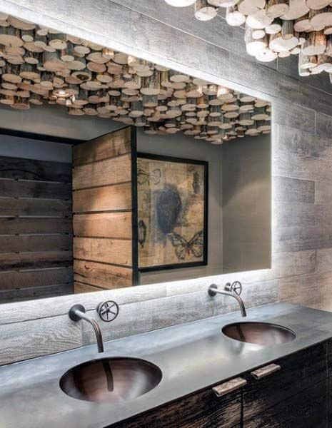 Bathroom Interior Ideas Rustic Designs