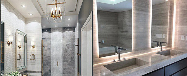 Top 50 Best Bathroom Lighting Ideas - Interior Light Fixtures