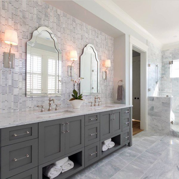 bathroom mirror and lighting ideas - Bathroom Mirror Ideas