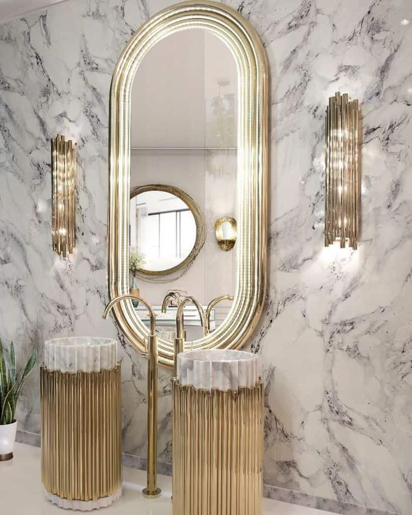 Bathroom Mirror Bathroom Decor Ideas Maisonvalentinaa