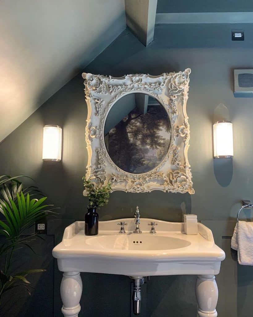Bathroom Mirror Bathroom Decor Ideas Peonycottagecotswolds