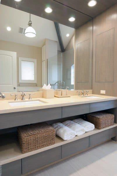 Next Luxury & Top 50 Best Bathroom Mirror Ideas - Reflective Interior Designs