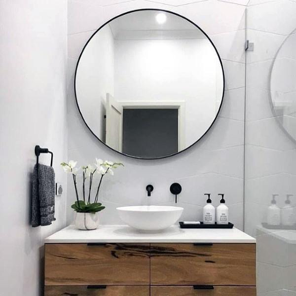 bathroom mirror decorating ideas - Bathroom Mirror Ideas