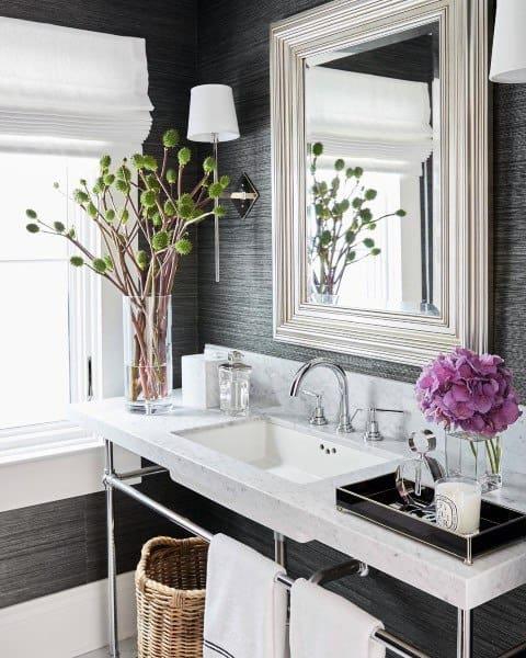Bathroom Mirror Frames Ideas