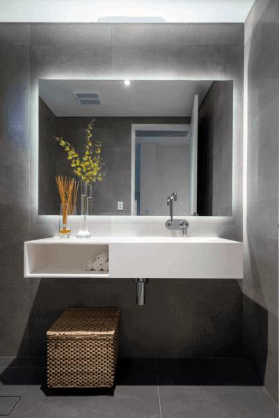 Small Bathroom Mirror | Top 50 Best Bathroom Mirror Ideas Reflective Interior Designs