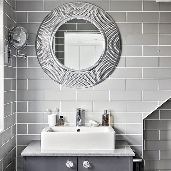 Top 50 Best Bathroom Mirror Ideas - Reflective Interior Designs