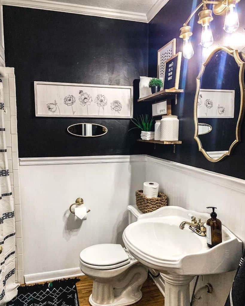 Bathroom Modern Farmhouse Decor Ashleybradleyart