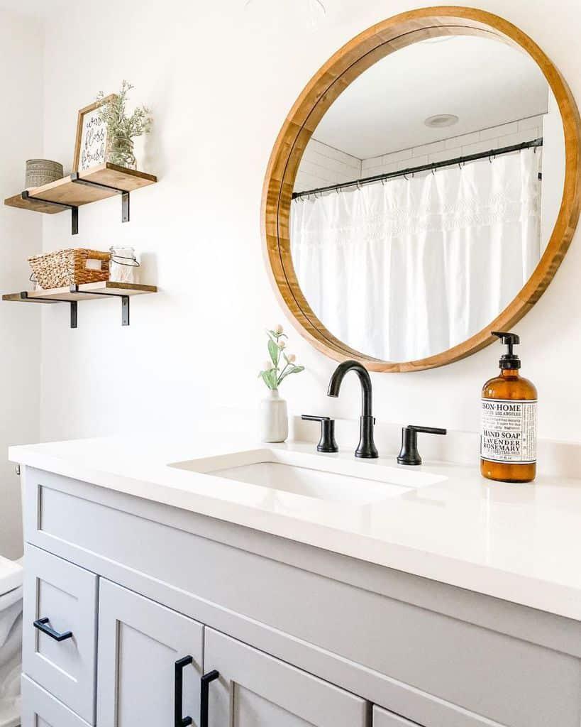 Bathroom Modern Farmhouse Decor Homemaker Mama