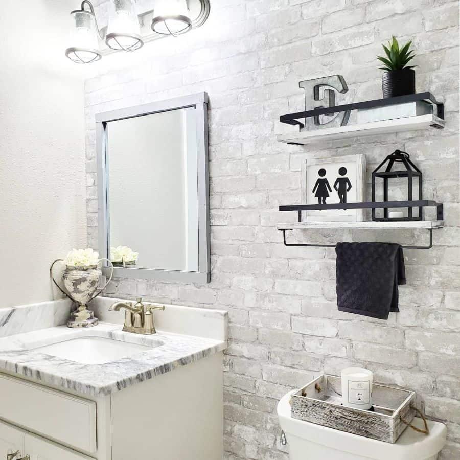 Bathroom Modern Farmhouse Decor Kimberlyear.designs