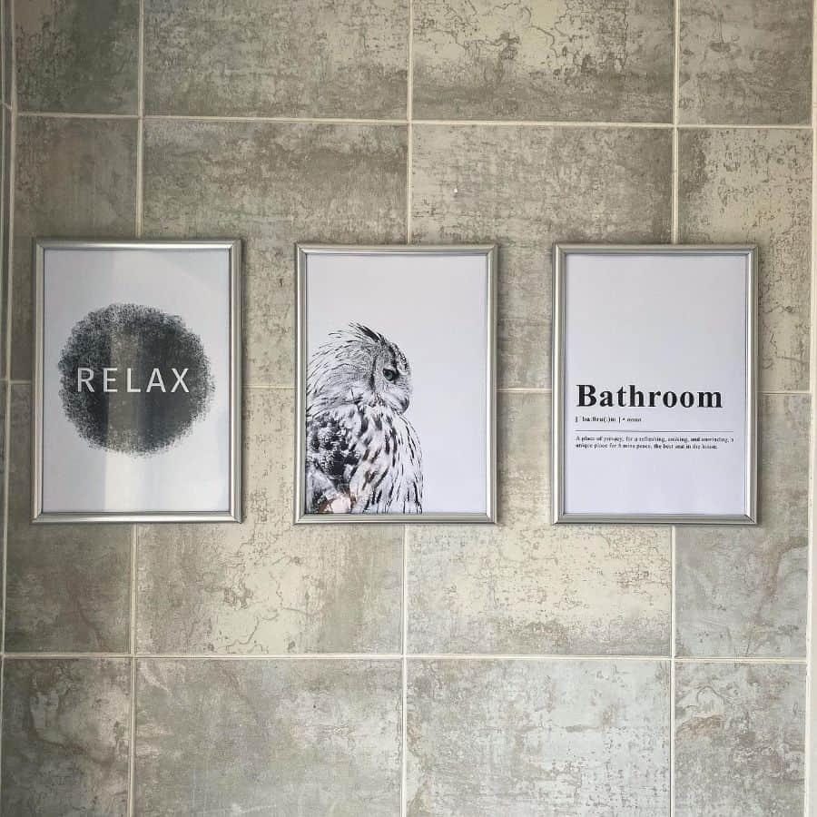 Bathroom Poster Or Signs Bathroom Decor Ideas Laurrraw