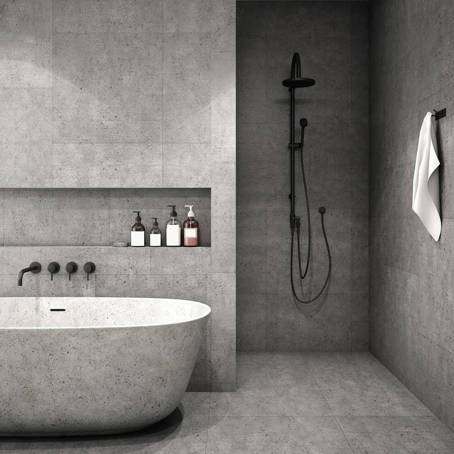 Bathroom Shower Marble Tile Design Ideas