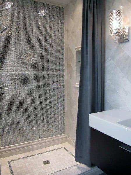 Large Marble Subway Tile Backsplash