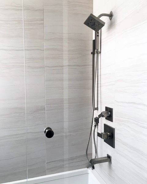 Bathroom Showers With Tile