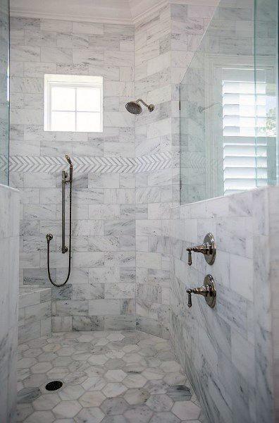 70 Bathroom Shower Tile Ideas - Luxury Interior Designs on Bathroom Tile Pattern Design  id=38694