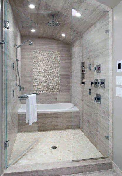 Bathroom Tiled Showers