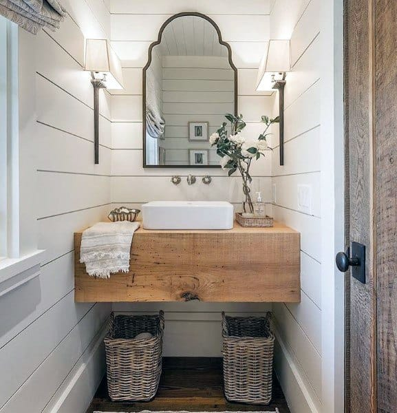 Traditional Bathroom Mirrors