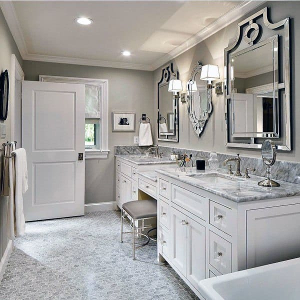 Top 50 Best Bathroom Mirror Ideas - Reflective Interior ...