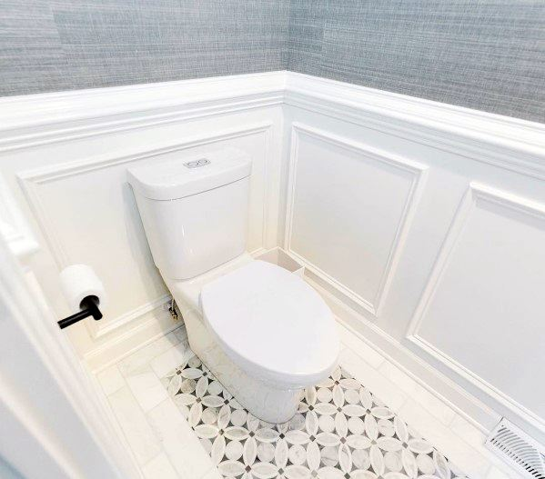 Bathroom Wall Moldings Chair Rail Spectacular Ideas