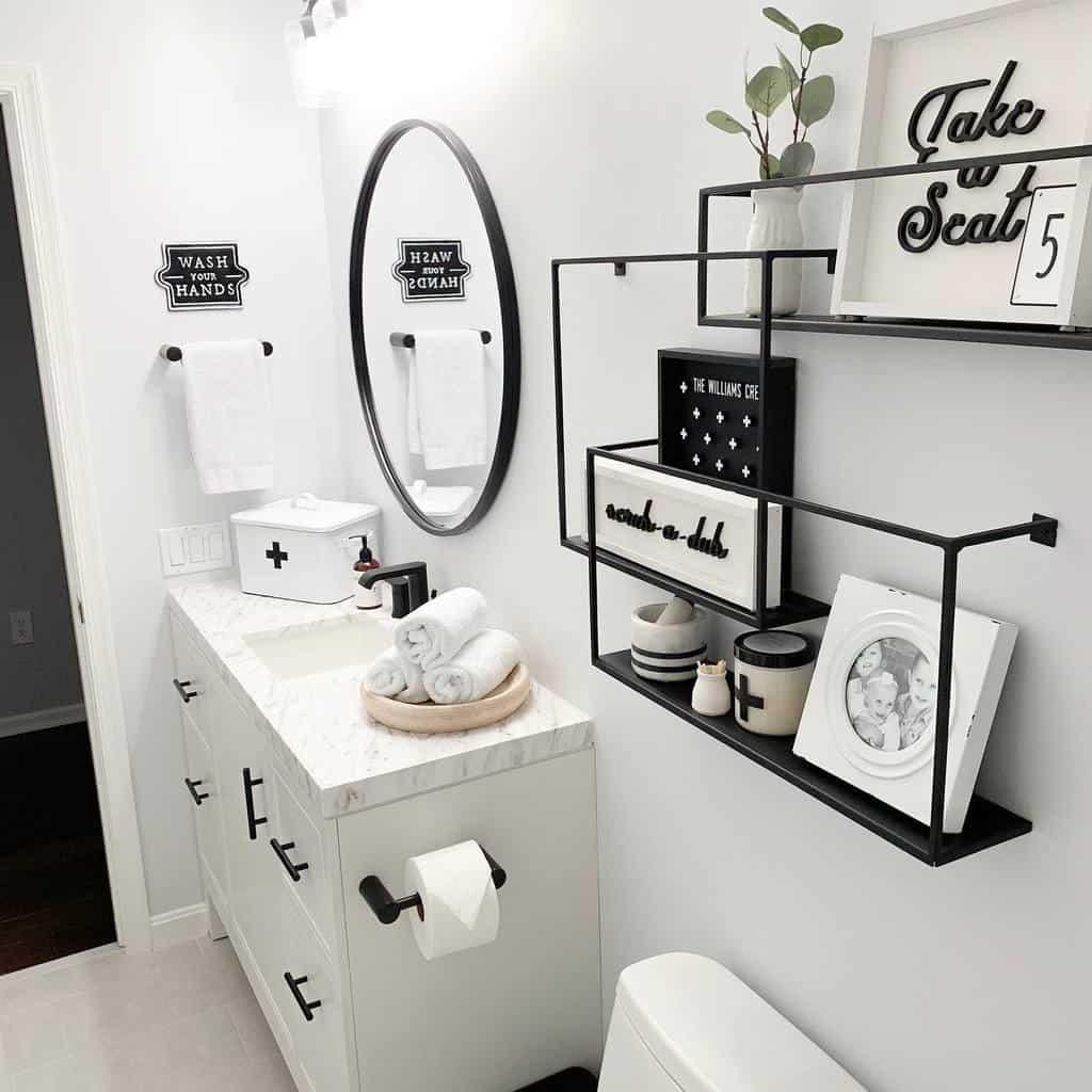 bathroom wall shelf ideas champagne.chaos