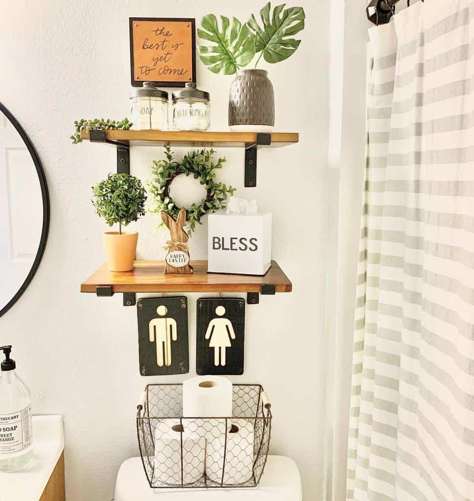 bathroom wall shelf ideas sharystudio
