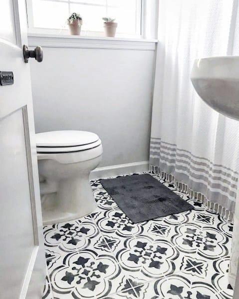 top 60 best painted floor ideas - flooring pattern designs