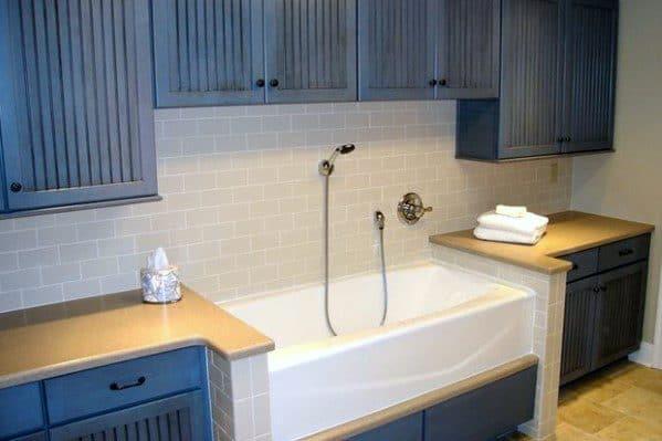 Bathtub Home Dog Wash Station Ideas