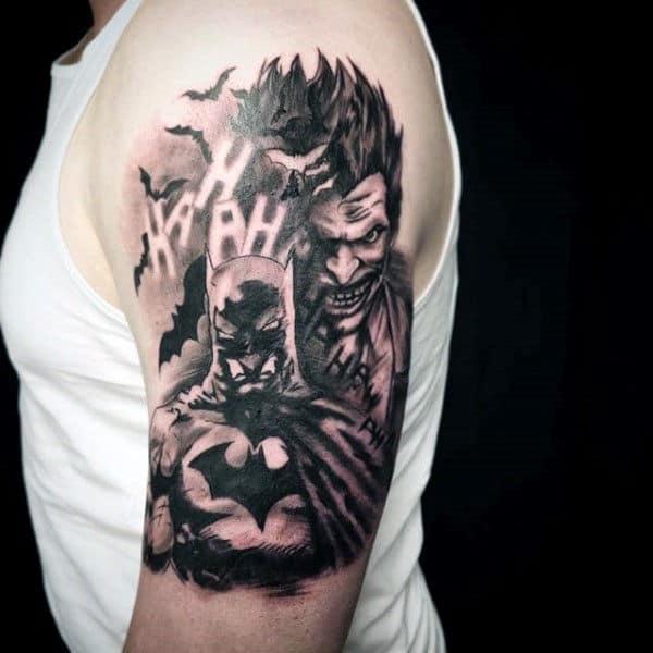 Batman Joker Card Tattoo 90 Joker Tattoo...