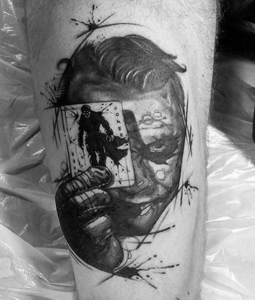 Batman Sign Tattoos Men