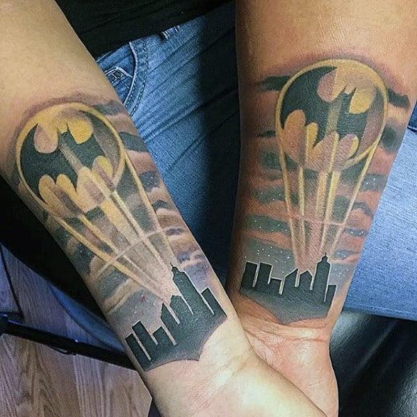 100 Batman Tattoos For Men - Superhero Ink Designs