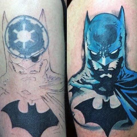 Batman Symbol Tattoo On Guy