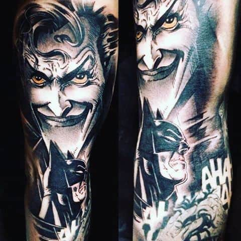 Batman Tattoo Design Men