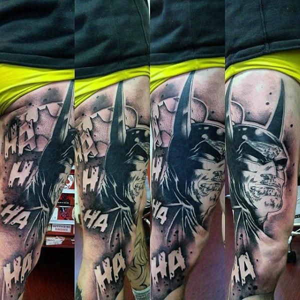 Batman Tattoo Ideas On Guys