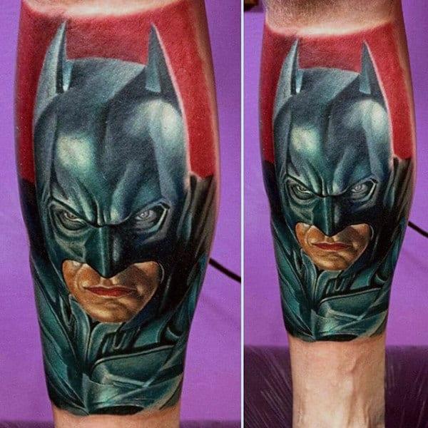 Batman Tattoo On Man