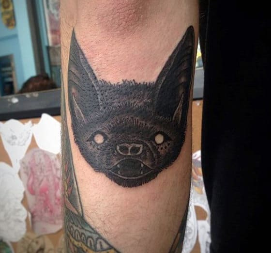 Bats Tattoo Designs For Males