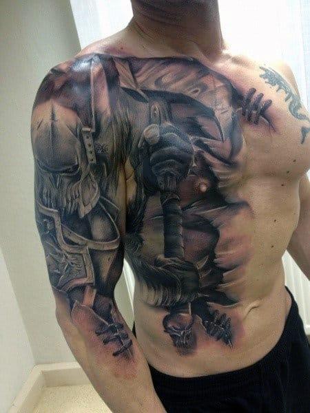 battle-warrior-tattoo-sleeve