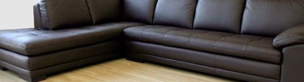 Baxton Studio Abriana Leather Sectional