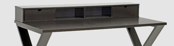 Baxton Studio Fargo Brown Wood Desk