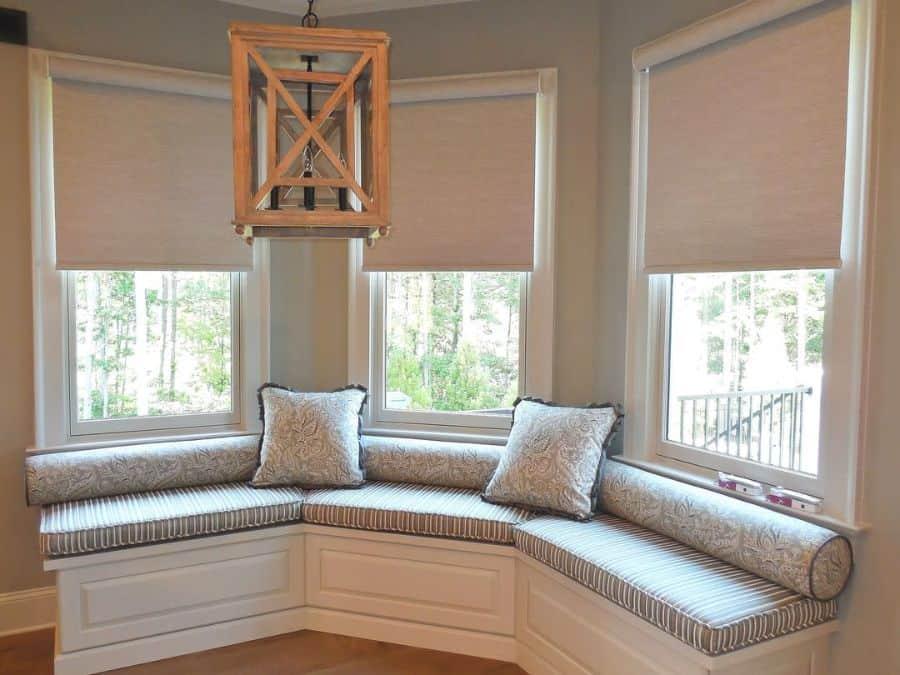 Bay Window Seat Ladydianneswindowtreatments