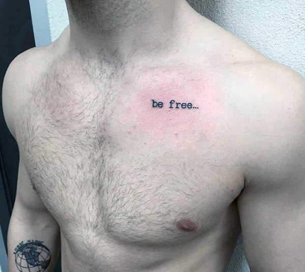 Top 37 Simple Chest Tattoo Ideas [2020 Inspiration Guide]