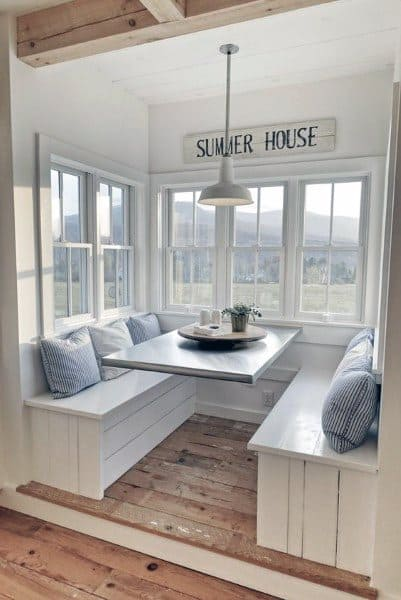 Beach House Breakfast Nook