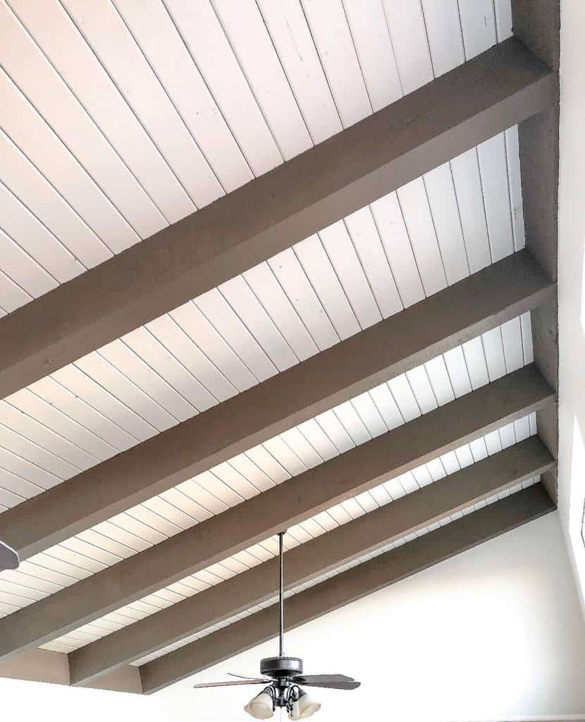 beadboard low basement ceiling ideas the_sumpter_house