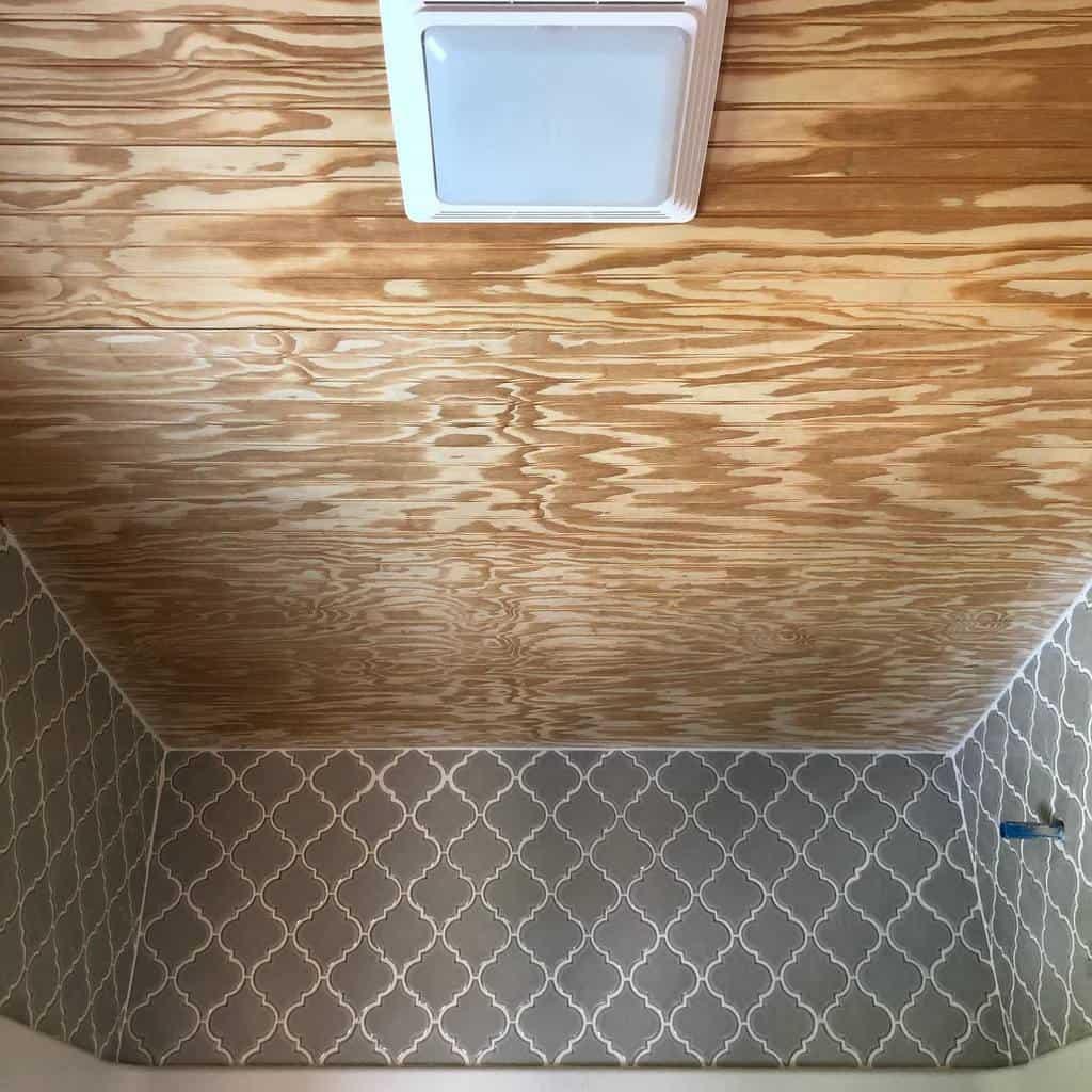 beadboard low basement ceiling ideas thislittlelogdream