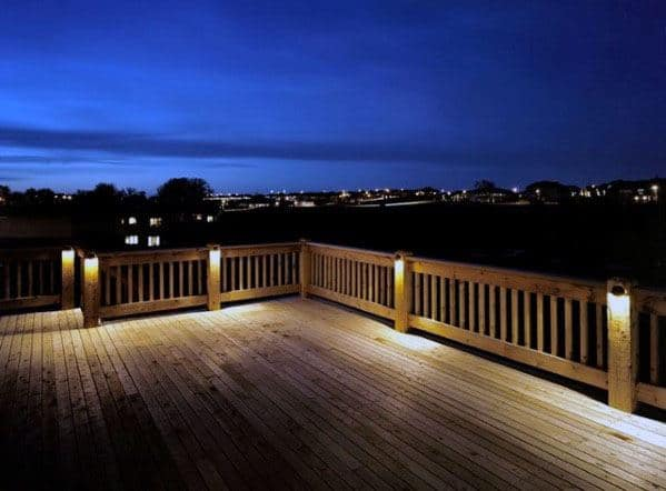 Top 60 Best Deck Lighting Ideas