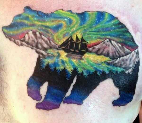 Bear Tattoos For Men