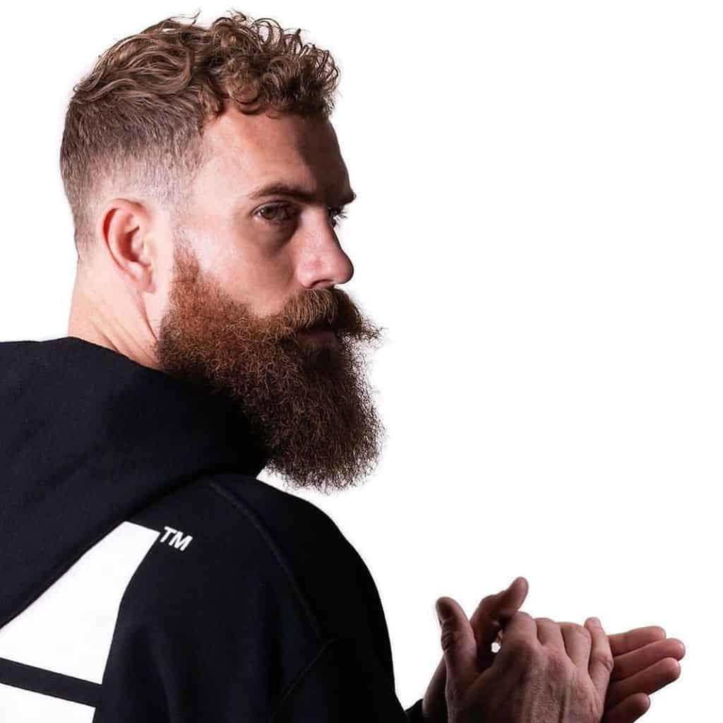 Beard Cool Hairstyle