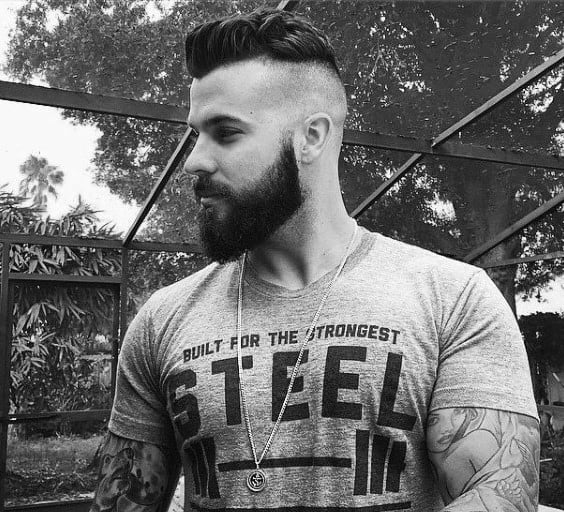 Admirable 50 Hairstyles For Men With Beards Masculine Haircut Ideas Short Hairstyles Gunalazisus