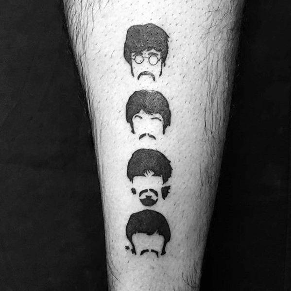 Beatles Mens Tattoo Designs