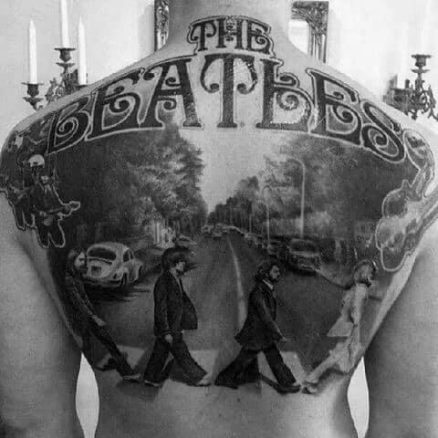 Beatles Mens Tattoo Ideas