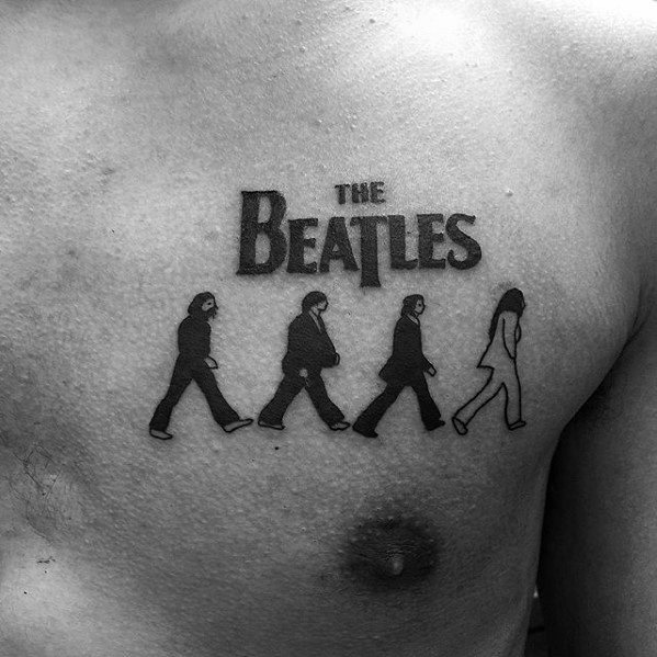Beatles Tattoo Design Ideas For Males