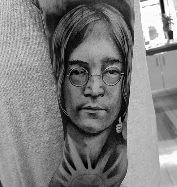 Beatles Tattoo Designs For Guys